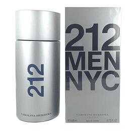 212 Men NYC para hombre / 200 ml Eau De Toilette Spray