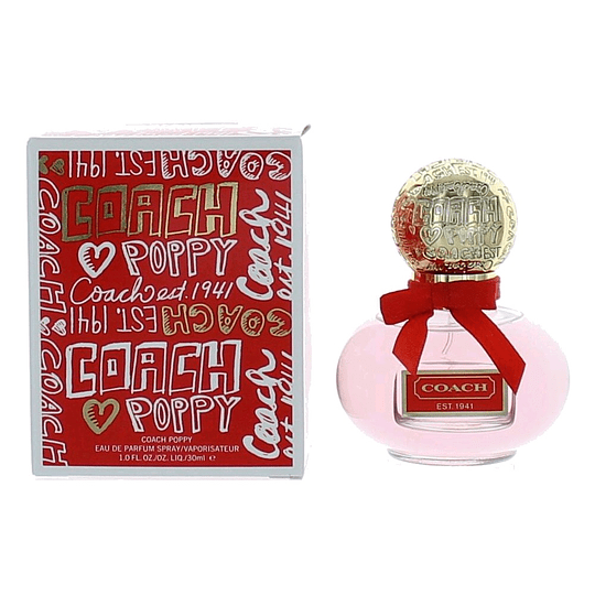 Coach Poppy para mujer / 30 ml Eau De Parfum Spray