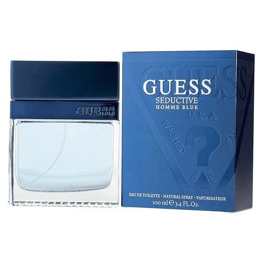 Guess Seductive Blue para hombre / 100 ml Eau De Toilette Spray