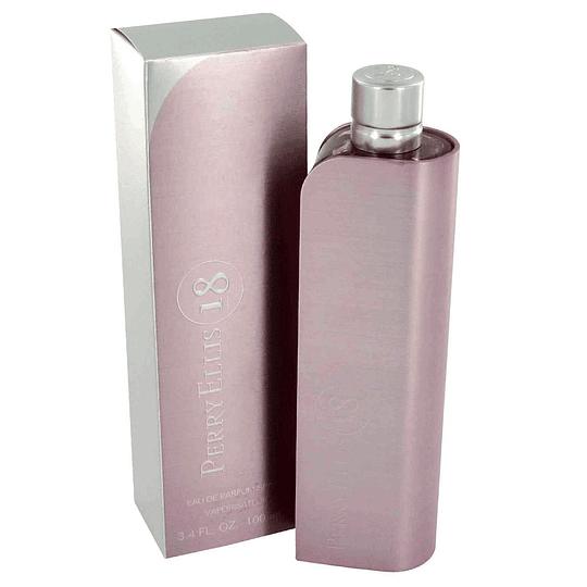 Perry Ellis 18 para mujer / 100 ml Eau De Parfum Spray