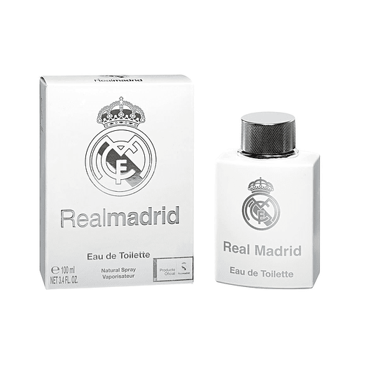 Real Madrid para hombre / 100 ml Eau De Toilette Spray