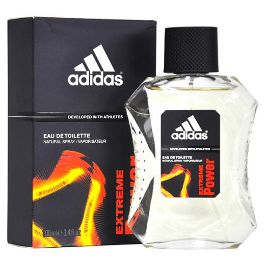 Adidas Extreme Power para hombre / 100 ml Eau De Toilette Spray