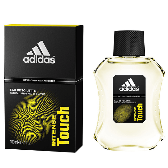 Adidas Intense Touch para hombre / 100 ml Eau De Toilette Spray