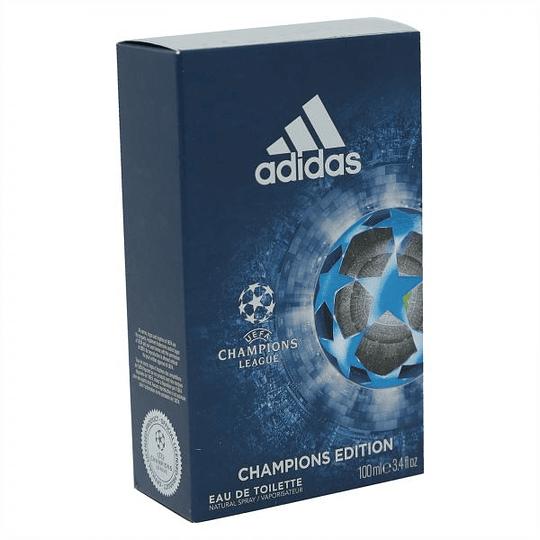 Adidas UEFA Champions para hombre / 100 ml Eau De Toilette Spray