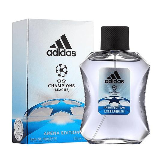 Adidas UEFA Arena para hombre / 100 ml Eau De Toilette Spray