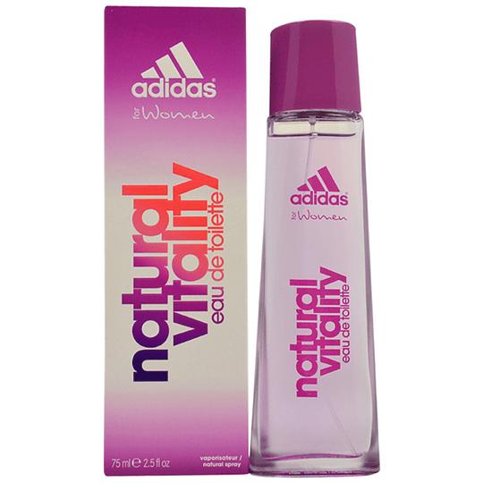 Adidas Natural Vitality para mujer / 75 ml Eau De Toilette Spray