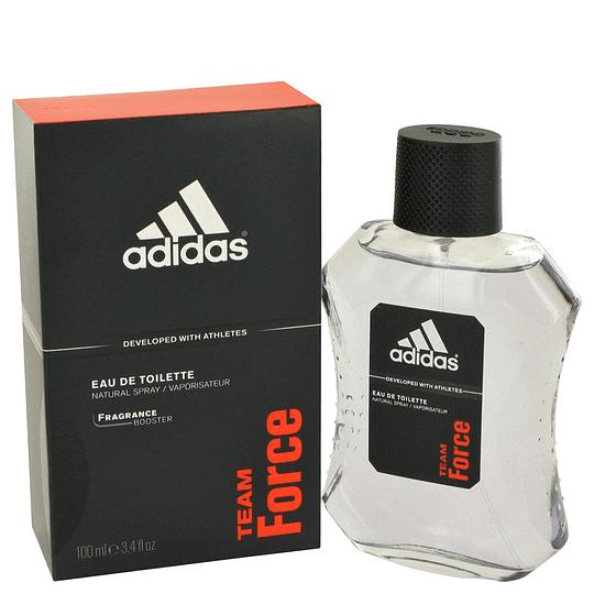 Adidas Team Force para hombre / 100 ml Eau De Toilette Spray