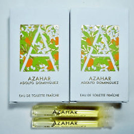 Azahar para mujer / AMPOLLETA - 1.7 ml Eau De Toilette Spray