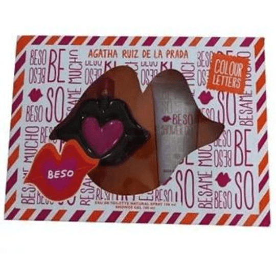 Beso para mujer / SET - 100 ml Eau De Toilette Spray