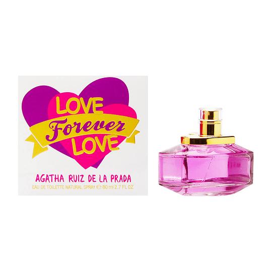 Love Forever Love para mujer / 80 ml Eau De Toilette Spray