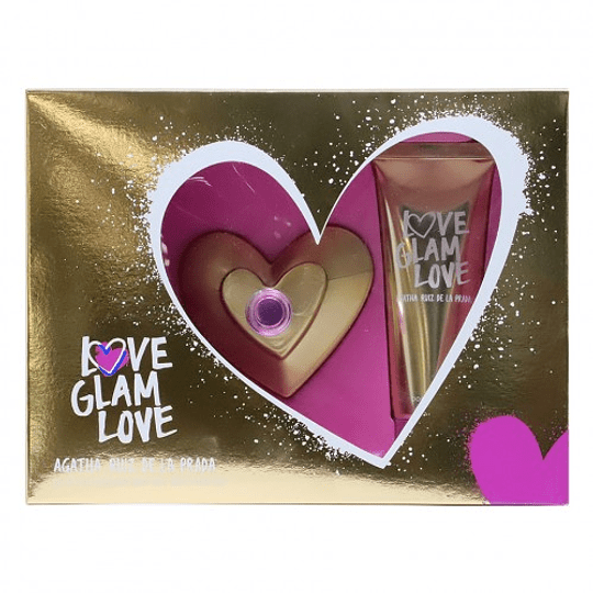 Love Glam Love para mujer / SET - 80 ml Eau De Toilette Spray