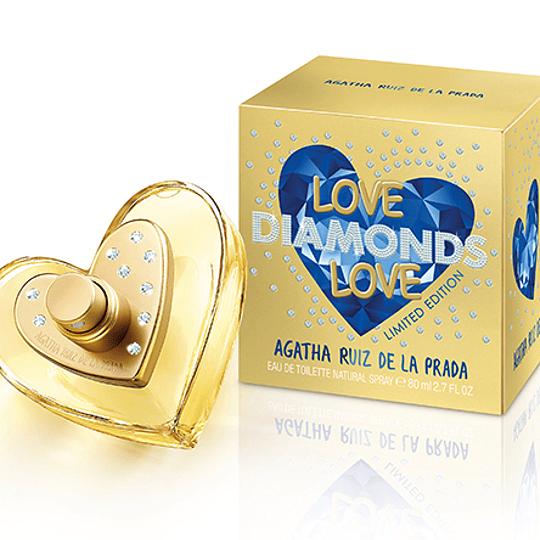 Love Diamonds Love para mujer / 80 ml Eau De Toilette Spray