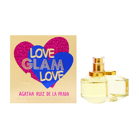 Love Glam Love para mujer / 80 ml Eau De Toilette Spray