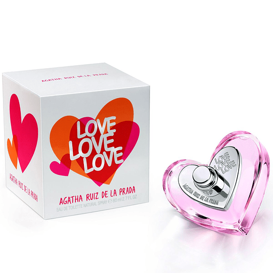 (W) Love Love Love 80 ml EDT Spray