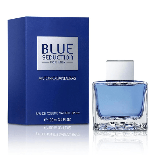 Blue Seduction para hombre / 100 ml Eau De Toilette Spray