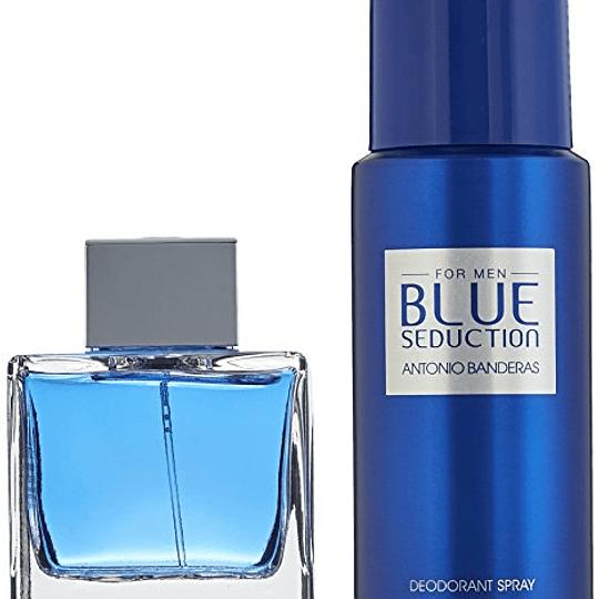 Blue Seduction para hombre / SET - 100 ml Eau De Toilette Spray
