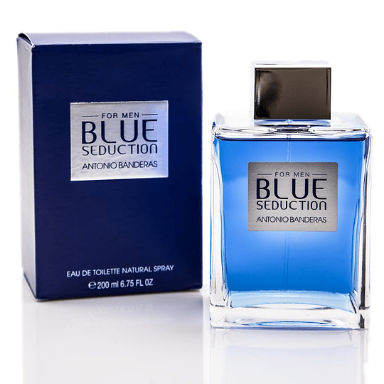 Blue Seduction para hombre / 200 ml Eau De Toilette Spray
