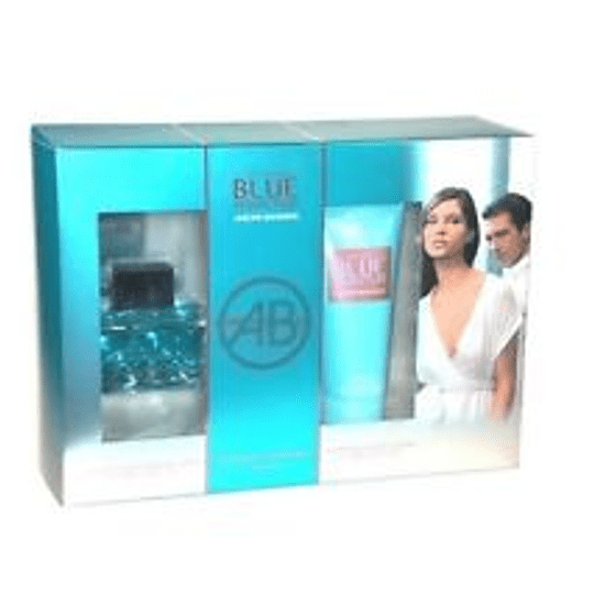 Blue Seduction para mujer / SET - 100 ml Eau De Toilette Spray