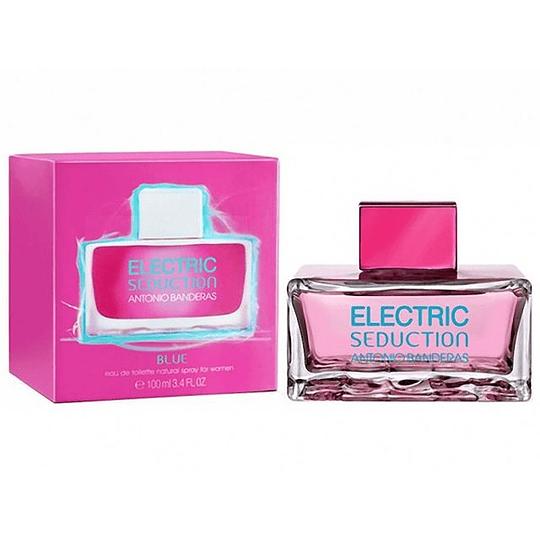 Electric Seduction Blue para mujer / 100 ml Eau De Toilette Spray
