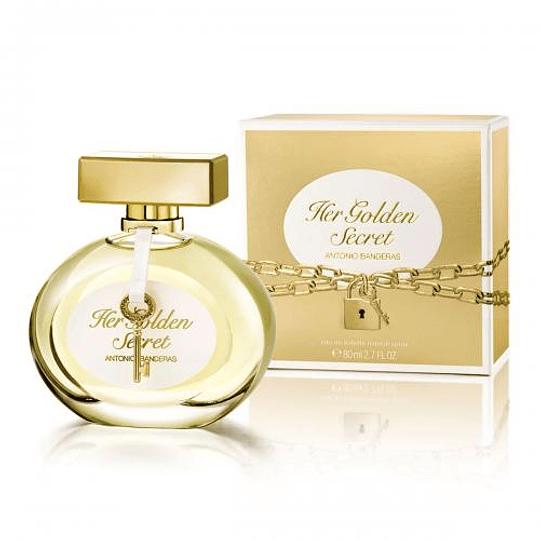 Her Golden Secret para mujer / 80 ml Eau De Toilette Spray