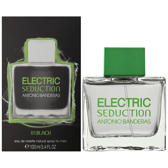 (M) Electric Seduction In Black 100 ml EDT Spray