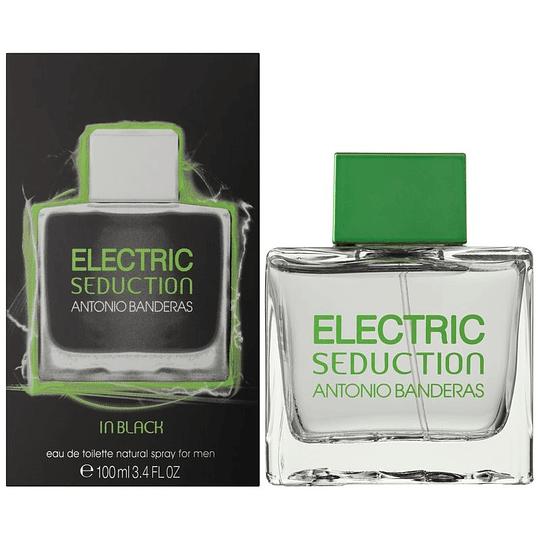 Electric Seduction In Black para hombre / 100 ml Eau De Toilette Spray