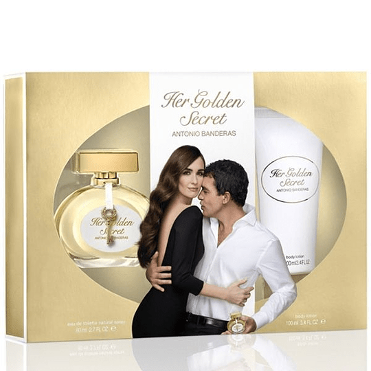 Her Golden Secret para mujer / SET - 80 ml Eau De Toilette Spray