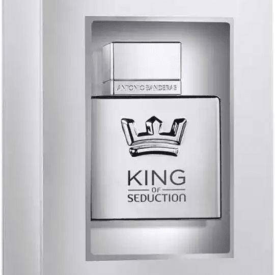 King of Seduction (Titanium edition) para hombre / 100 ml Eau De Toilette Spray