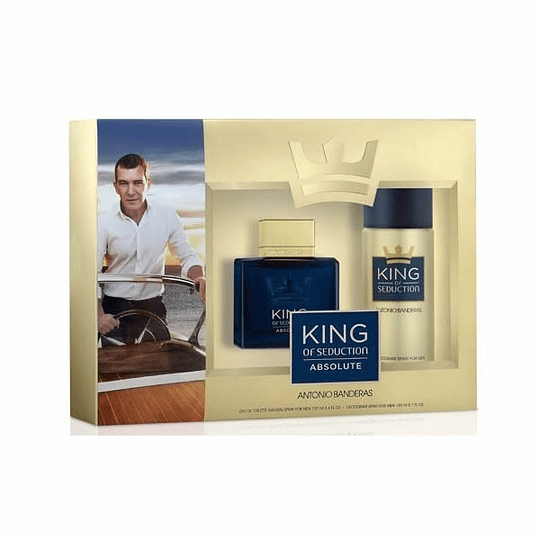 King of Seduction Absolute para hombre / SET - 100 ml Eau De Toilette Spray