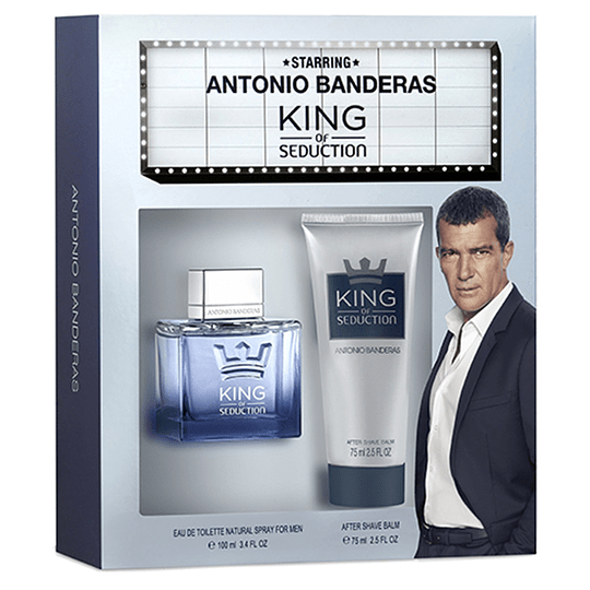 King of Seduction para hombre / SET - 100 ml Eau De Toilette Spray