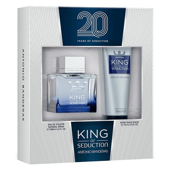 King of Seduction para hombre / SET - 100 ml Eau De Toilette Spray