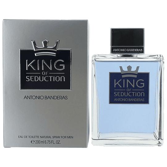 King of Seduction para hombre / 200 ml Eau De Toilette Spray