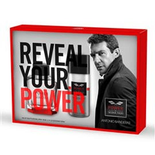 Power of Seduction para hombre / SET - 100 ml Eau De Toilette Spray