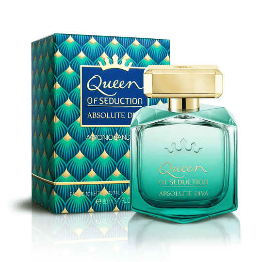 Queen of Seduction Absolute Diva para mujer / 80 ml Eau De Toilette Spray