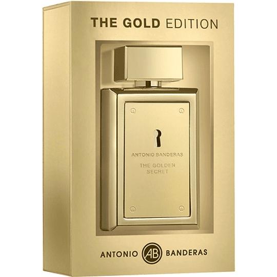 The Golden Secret (The Gold edition) para hombre / 100 ml Eau De Toilette Spray