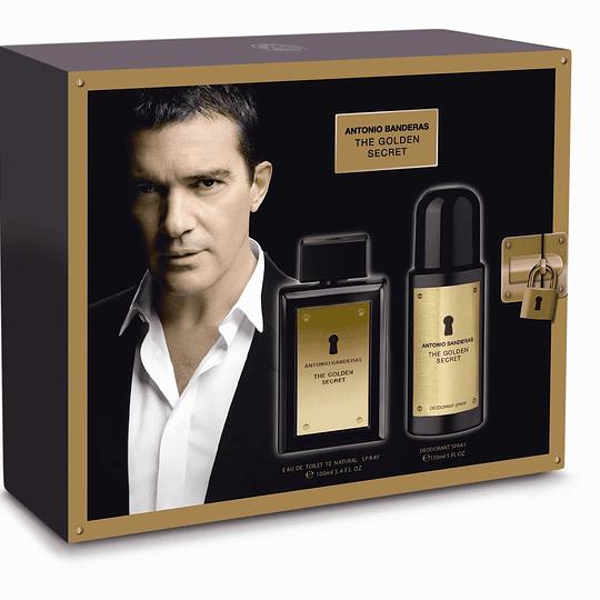 The Golden Secret para hombre / SET - 100 ml Eau De Toilette Spray