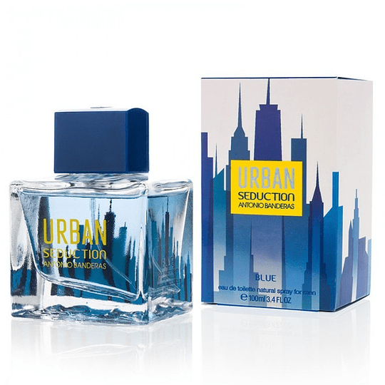 Urban Seduction Blue para hombre / 100 ml Eau De Toilette Spray