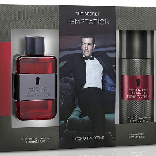 The Secret Temptation para hombre / SET - 100 ml Eau De Toilette Spray