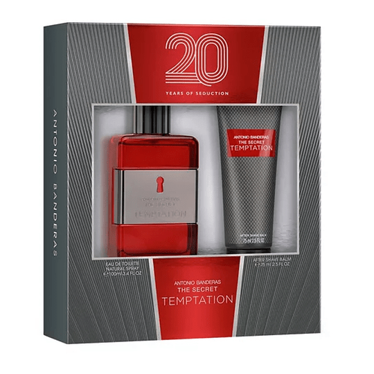The Secret Temptation para hombre / SET - 100 ml Eau De Toilette Spray