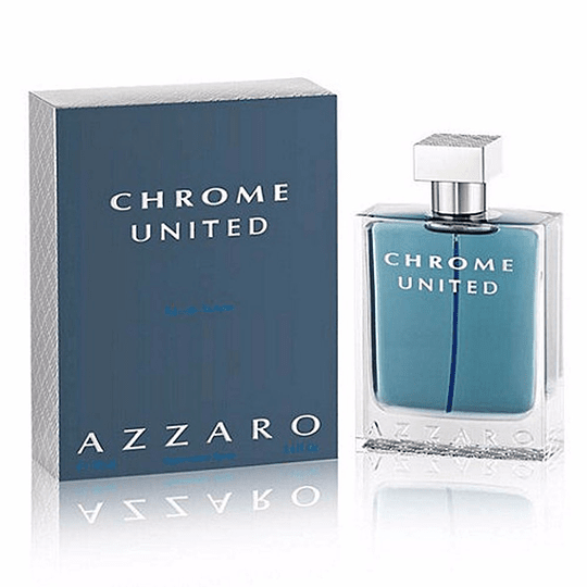 Azzaro Chrome United para hombre / 200 ml Eau De Toilette Spray