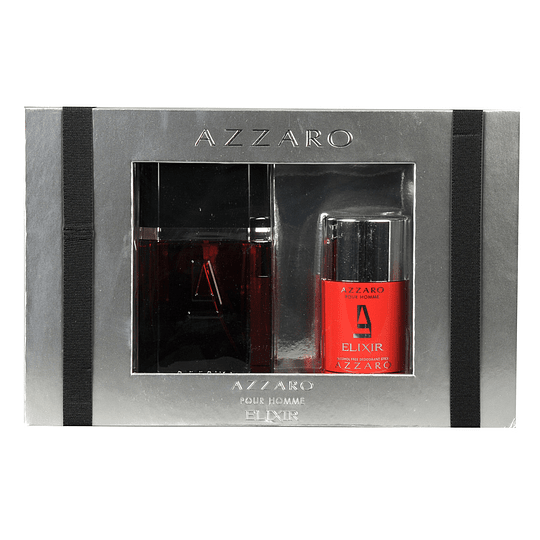 Azzaro Elixir para hombre / SET - 100 ml Eau De Toilette Spray