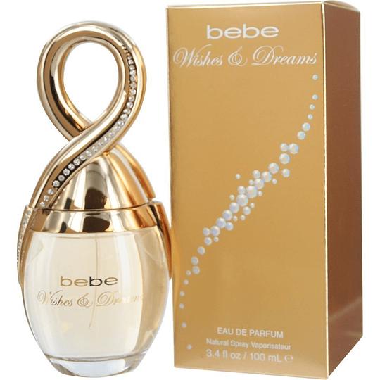 Bebe Wishes & Dreams para mujer / 100 ml Eau De Parfum Spray