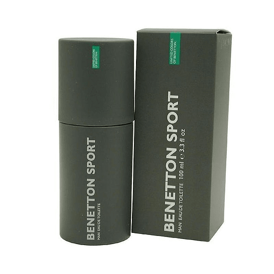 Benetton Sport para hombre / 100 ml Eau De Toilette Spray