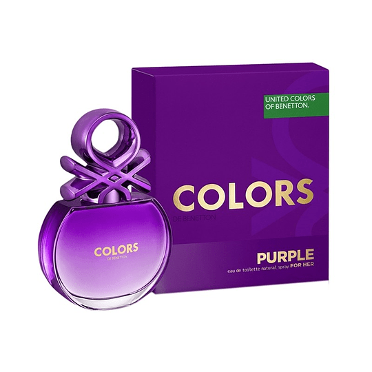 Colors Purple para mujer / 80 ml Eau De Toilette Spray