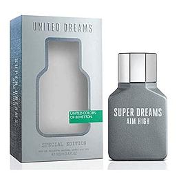 (M) United Dreams - Aim High - Super Dreams 100 ml EDT Spray
