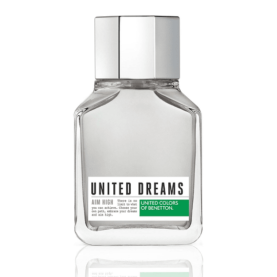 United Dreams Aim High para hombre / 100 ml Eau De Toilette Spray