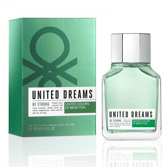 (M) United Dreams - Be Strong 100 ml EDT Spray