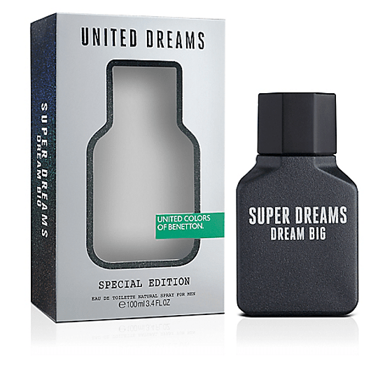 (M) United Dreams - Dream Big - Super Dreams 100 ml EDT Spray