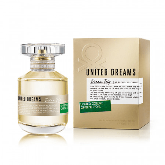 United Dreams Dream Big para mujer / 80 ml Eau De Toilette Spray