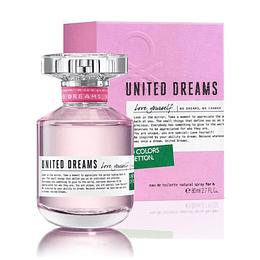 (W) United Dreams - Love Yourself 80 ml EDT Spray